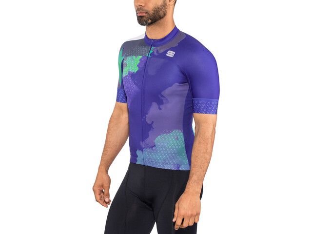 Sportful Bodyfit Team 2.0 Dolomia Maillot de cyclisme Homme, blue cosmic
